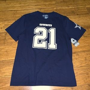 NFL Dallas Cowboys T-Shirt Ezekiel Elliott #21 SM